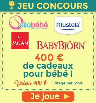 Des lots exceptionnels ! jeu concours Babynote