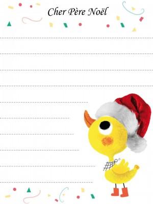 Ecrire sa lettre au Père Noël | Baby note