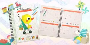 Une carnet de liaison pour le suivi de bébé à la crèche ou chez la nounou