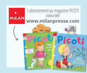 Un abonnement au magazine Picoti à gagner au jeu concours