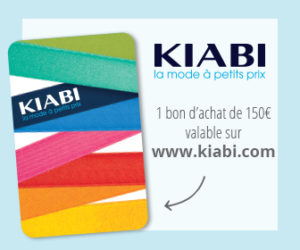 Bon d'achat de 150€ sur Kiabi à gagner au jeu concours