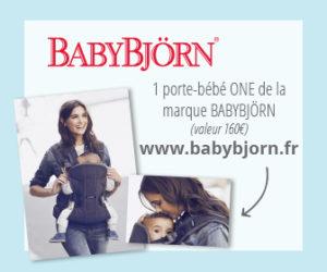 Tentez de remporter un porte-bébé ONE de Babybjörn