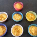 Une recette de purée polenta ratatouille et poulet pour la diversification alimentaire