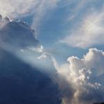 Un ciel chargé mais ensoleillé quand même