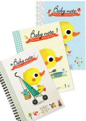 Trois carnets indispensables pour le suivi de bébé