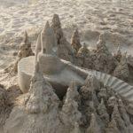 Ce chateau de sable ressemble à un film...