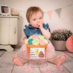 Gardez un souvenir du premier fruit ou du premier gateau mangé par votre enfant