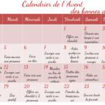 Un calendrier de l'Avent original à télécharger gratuitement