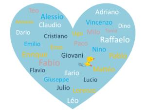 Idées de prénoms italiens garçons