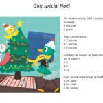 Téléchargez gratuitement un quizz pour enfants sur Noël