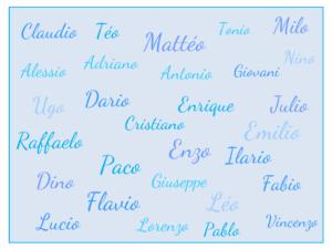 des id 233 es de pr 233 noms italiens pour gar 231 ons baby note