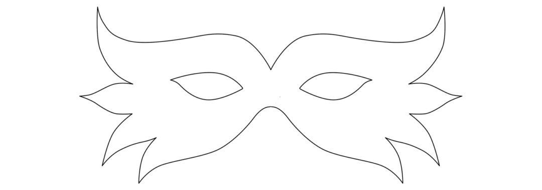 Joli masque de carnaval à faire soi même