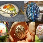 Des oeufs de Pâques décorés et très originaux