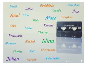 Prénoms garçons de chanteurs des années 80