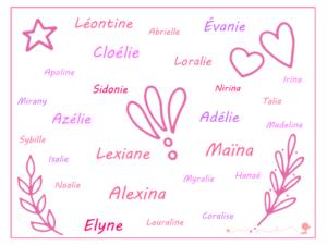 Cherche prenoms filles