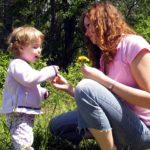 Journée de son enfant avec la nounou