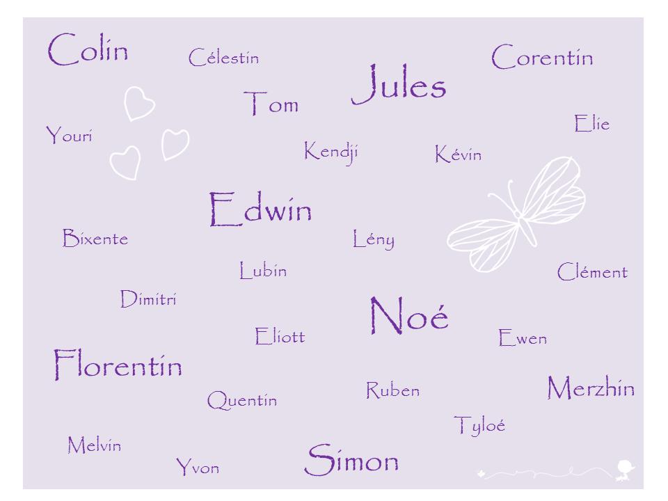 Idées De Prénoms Garçons Sans A Baby Note