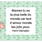 Henri Salvador : citation et image sur maman